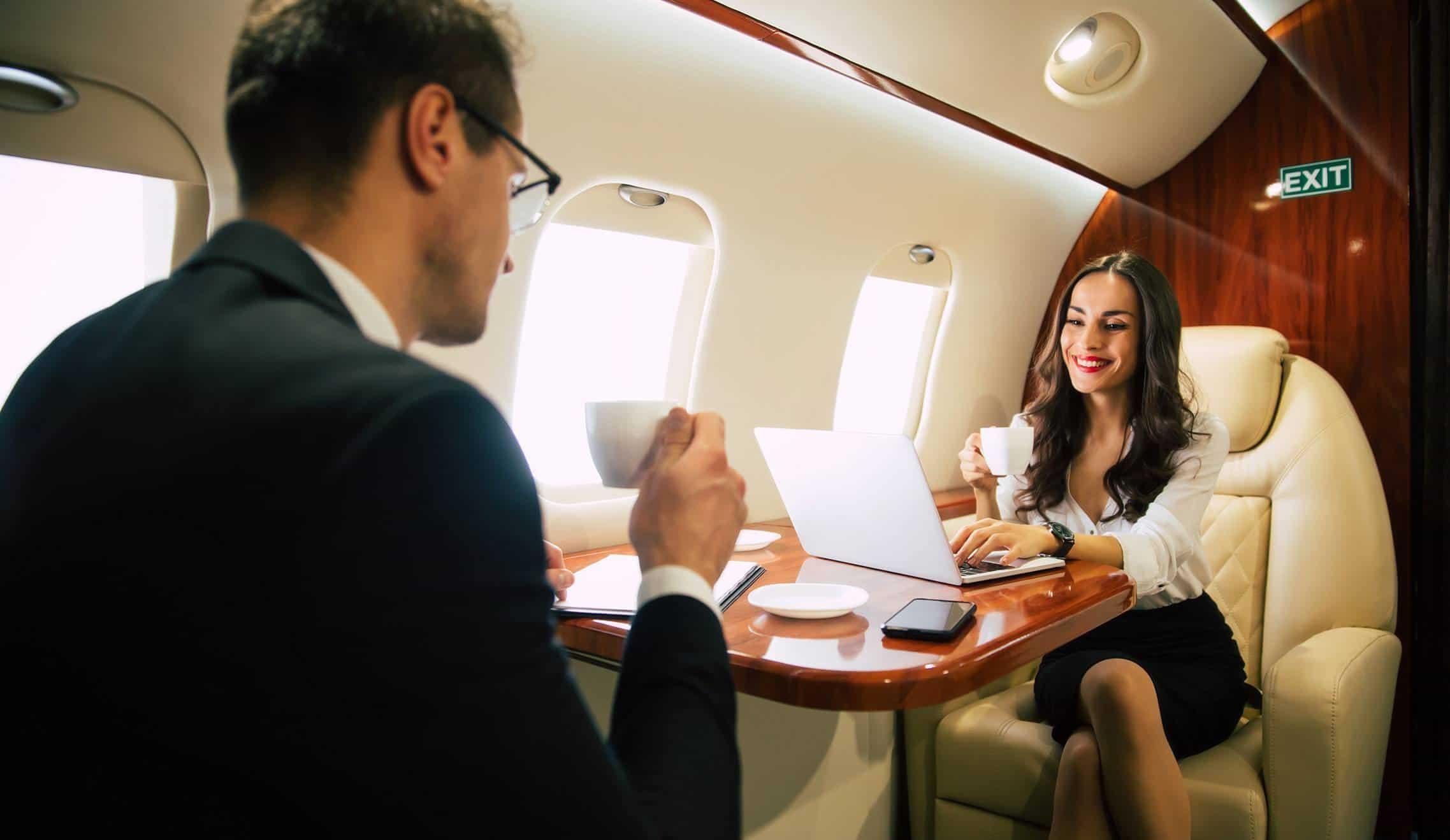 Jet privé wifi